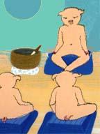 Piggy gong
